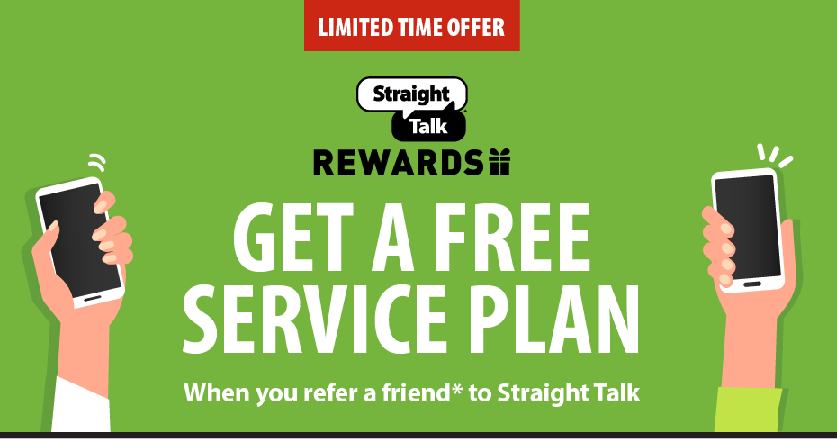 GET A FREE SERVICE PLAN | Straight Talk
