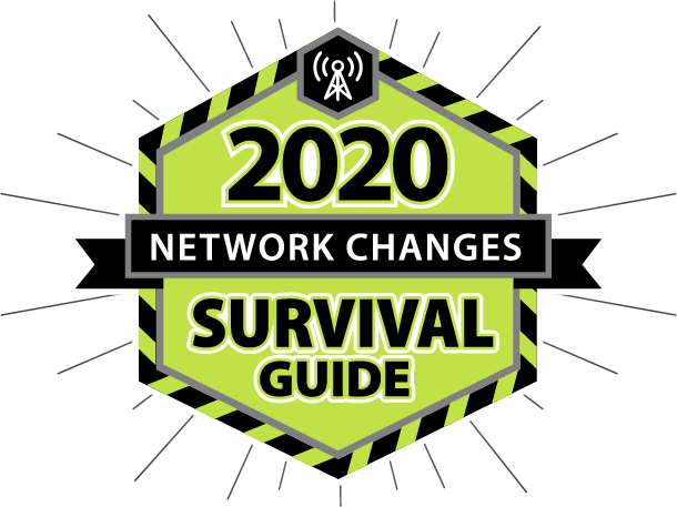 2020 NETWORK CHANGES